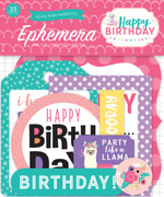 Happy Birthday Girl Ephemera