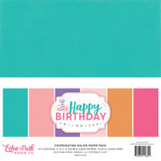 Happy Birthday Girl Solids Kit