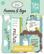 Sweet Baby Boy Frames & Tags Ephemera