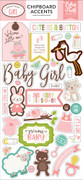 Sweet Baby Girl Chipboard Phrases