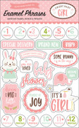 Sweet Baby Girl Enamel Words & Phrases