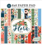 Flora No. 2 6x6 Paper Pad
