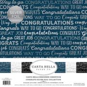 Congrats Foil Collection Kit