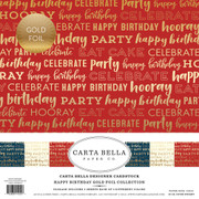 Happy Birthday Foil Collection Kit