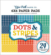 Summer Gingham 6x6 Paper Pad