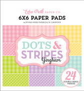 Spring Gingham 6x6 Paper Pad