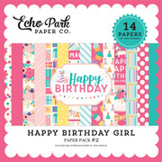 Happy Birthday Girl Paper Pack #2