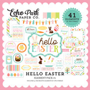 Hello Easter Element Pack #1