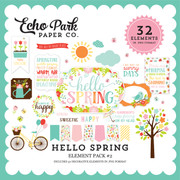Hello Spring Element Pack #2