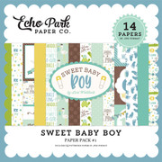Sweet Baby Boy Paper Pack #1