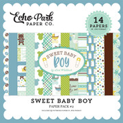 Sweet Baby Boy Paper Pack #2
