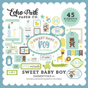 Sweet Baby Boy Element Pack #1