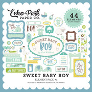 Sweet Baby Boy Element Pack #3