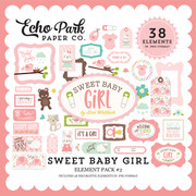 Sweet Baby Girl Element Pack #2