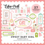 Sweet Baby Girl Element Pack #3
