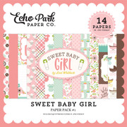 Sweet Baby Girl Paper Pack #1