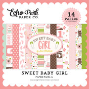 Sweet Baby Girl Paper Pack #2
