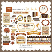 Reflections Fall Element Pack #1