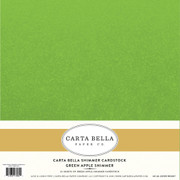 Green Apple Shimmer Cardstock