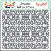 Picnic Blanket Stencil