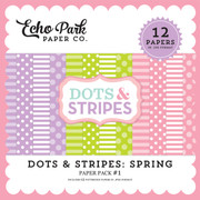 Dots & Stripes: Spring Paper Pack #1