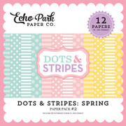 Dots & Stripes: Spring Paper Pack #2