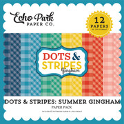 Dots & Stripes: Summer Gingham Paper Pack