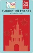 Wish Upon A Star Embossing Folder - Dreams Come True