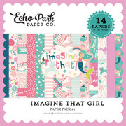 Imagine That Girl Paper Pack #1