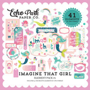 Imagine That Girl Element Pack #1