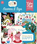 Alice In Wonderland Frames & Tags Ephemera