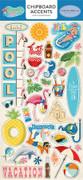 Summer Splash Chipboard Accents
