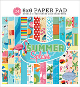 Summer Splash 6x6 Paper Pad