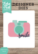 Smile Camera Die Set