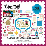 Alice In Wonderland Element Pack #3