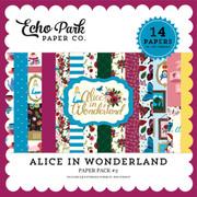 Alice In Wonderland Paper Pack #2