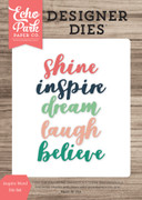 Inspire Word Die Set