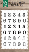 Classic Numbers Stamp