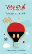 Balloon Ride Enamel Pin