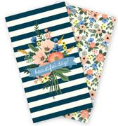 Fancy Flora Travelers Notebook - Daily Calendar