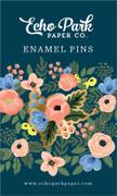 Fancy Flora Enamel Pin