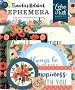 Fancy Flora Travelers Notebook Ephemera