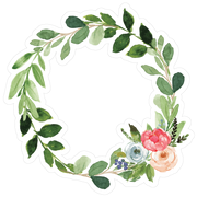 Green Wreath SVG Cut File