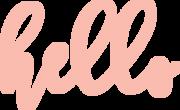 Hello SVG Cut File