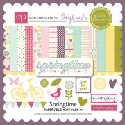 Springtime Paper/Element Pack #1