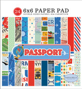 Passport 6x6 Paper Pad