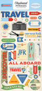 Passport Chipboard Phrases