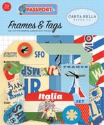 Passport Frames & Tags Ephemera
