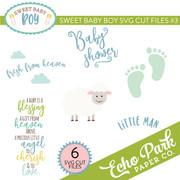 Sweet Baby Boy SVG Cut Files #3