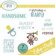Sweet Baby Boy SVG Cut Files #2